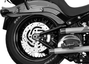 Motorcycle Air Suspension Kits Installed