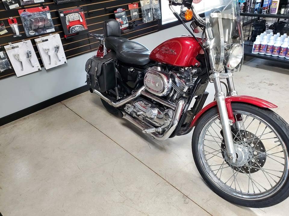 SOLD – Harley 2010 XL1200c Sportster Custom