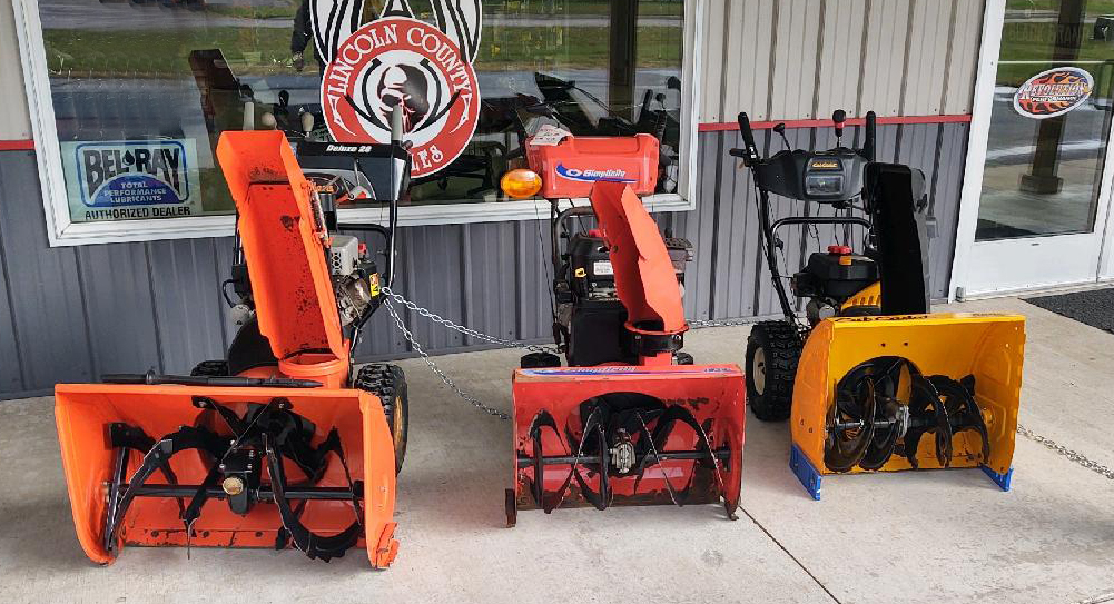 Used Snowblowers