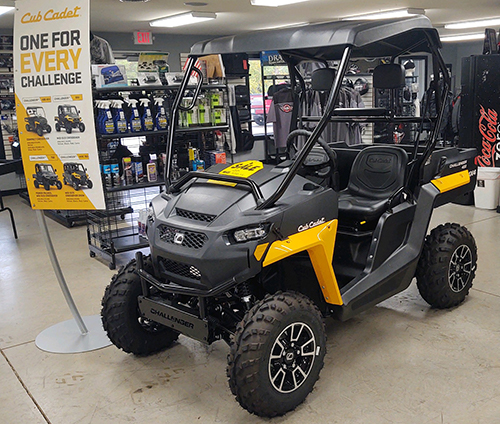 2021 Cub Cadet UTVs in stock