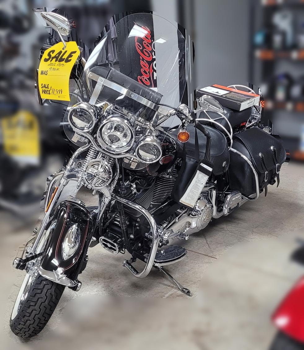 SOLD – 2002 Harley-Davidson FLSTSI