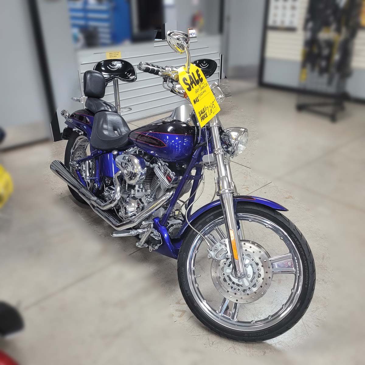 SOLD – 2004 Harley-Davidson Softail Deuce CVO